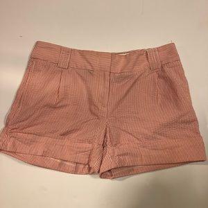 J. crew Striped Seersucker City Fit Shorts, 6